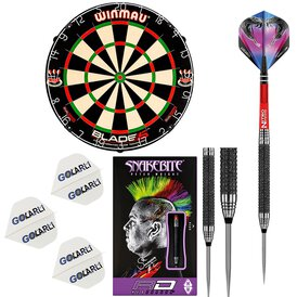 Winmau Blade 5 Dual Core Bristle Dart Board und Red...