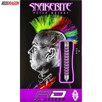 Red Dragon Steel Darts Peter Wright Snakebite Vyper Steeltip Dart Steeldart 2019