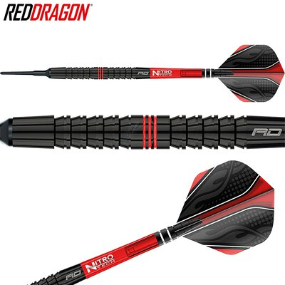 Red Dragon Soft Darts Jamie Lewis Fireball 90% Tungsten Softtip Dart Softdart 2019