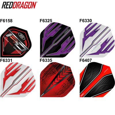 Red Dragon Hardcore Flights Dart Flight und Spieler Flights verschiedene Designs
