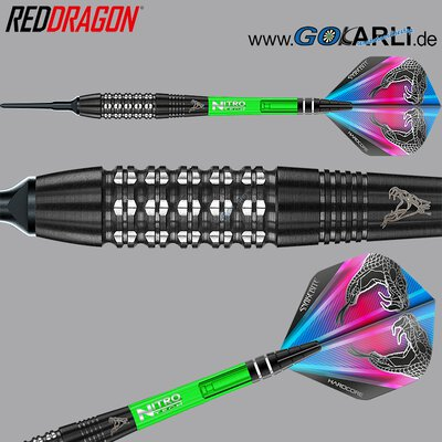 Red Dragon Soft Darts Peter Wright Snakebite Black Strike Softtip Dart Softdart 2019