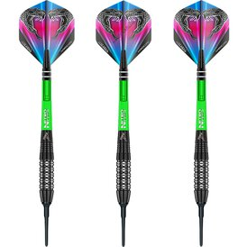 Red Dragon Soft Darts Peter Wright Snakebite Black Strike...