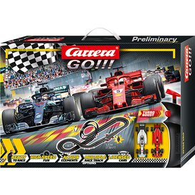 Carrera GO!!! Rennbahn Speed Grip Set / Grundpackung 62482