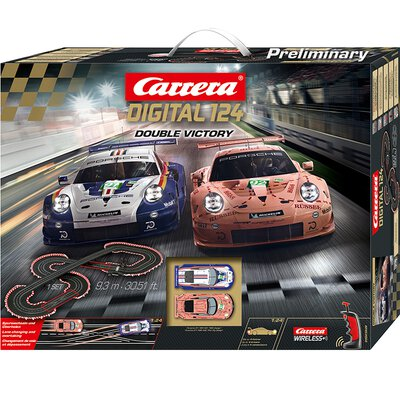 Carrera Digital 124 Double Victory Set / Grundpackung 23628