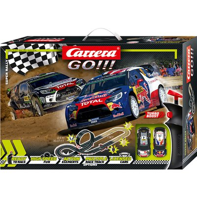 Carrera GO!!! Super Rally Set / Grundpackung 62495