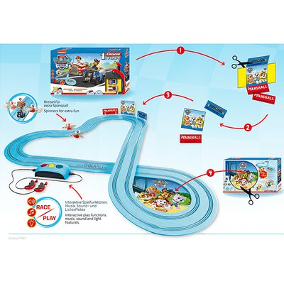 My 1. First Carrera Paw Patrol Chase Marshall Race ´n Rescue Set / Grundpackung 63032