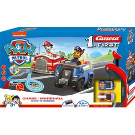 My 1. First Carrera Paw Patrol Chase Marshall Race ´n...
