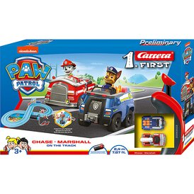 My 1. First Carrera Paw Patrol Chase Marshall On the...