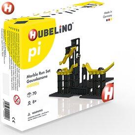 Hubelino Kugelbahn pi Marble Run Set Gausskanone 70 Teile...