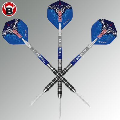 BULLS Steel Darts Jan Dekker 90% Tungsten Steel Dart Steeldart Steeltip 22 g