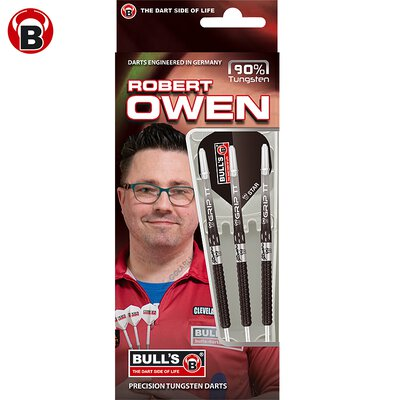 BULLS Steel Darts Robert Owen 90% Tungsten Steel Dart Steeldart Steeltip 23 g