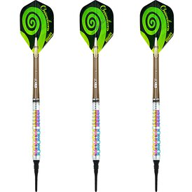 one80 Soft Darts Chameleon Zircon VHD Softtip Dart...