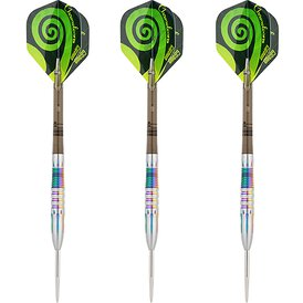 one80 Steel Darts Chameleon Furcifer VHD Steeltip Dart...