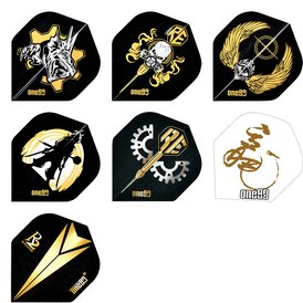 one80 Revolution R2 Dart Flights Dartflight Rebel...
