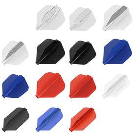 8 Flight Dart Flight verschiedene Farben und Flightformen...