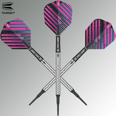 Target Soft Darts Ricky Evans 90% Tungsten 2019 Softtip Darts Softdart 18 g