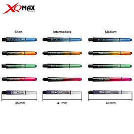 XQMax Shaft Max Grip Shaft mit Feder Ring in...