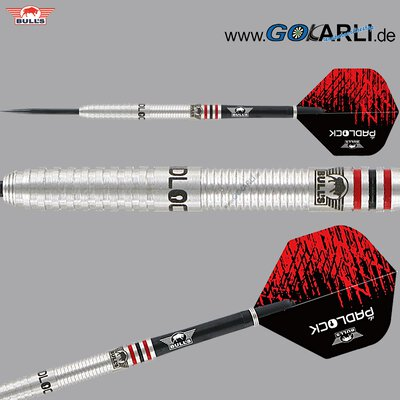 BULLS Steel Darts Gergely Lakatos The Padlock 90% Tungsten Matchdart Steeltip Darts Steeldart