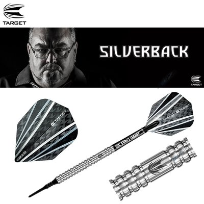 Target Soft Darts Tony OShea The Silverback 90% Tungsten Generation 2 Gen 2 Softtip Darts Softdart 18 g