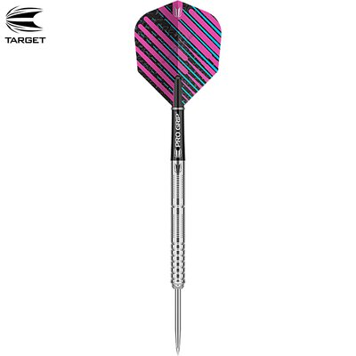 Target Steel Darts Ricky Evans 90% Tungsten 2019 Steeltip Darts Steeldart & Ricky Evans Flight 334260 & Pro Grip Shafts 110170 & GOKarli Flights