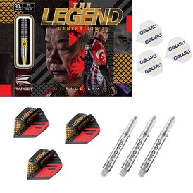 Target Steel Darts Paul Lim Legend G3 Generation 3 90%...