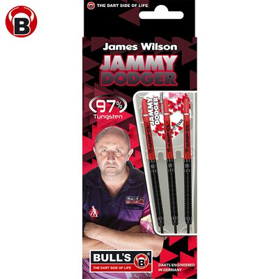BULL´S James Wilson Original 97% Tungsten Black Edition Steel Dart Steeldart Steeltip 22 g
