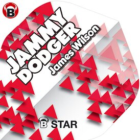 BULL´S B-Star Dart Flights James Wilson Jammy Dodger...