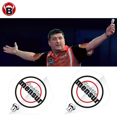 BULL´S B-Star Flights Mensur Suljovic The Gentle Flightform / Shape Standard