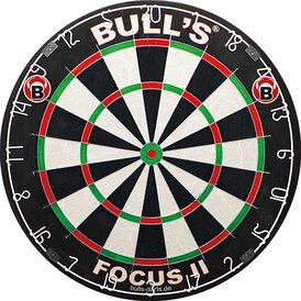 BULLS Focus II Turnier Bristle-Board Dartboard
