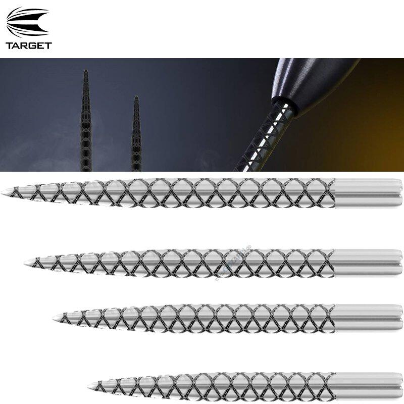 Target Steel-Dartspitzen Diamond Pro Points Silber 32 mm 3 St/ück
