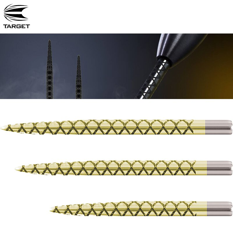 Target Titanium Pro Steeldart Wechselspitzen in 2 Längen Spitzen Dartspitzen