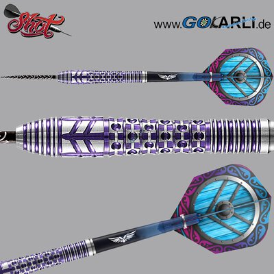 Shot Steel Dart Viking Shield Maiden 90% Tungsten Steeltip Darts Steeldart 27 g