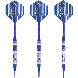 Unicorn Soft- Steel Darts Sigma HS Converta Blue Titanium...