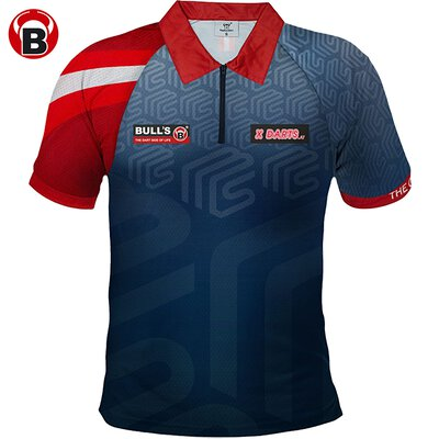 BULL´S Darts Mensur Suljovic The Gentle Matchshirt Dart Shirt Trikot Edition 2019