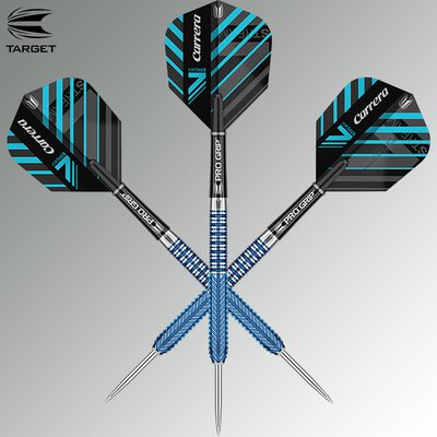 Target Steel Darts Carrera V-Stream V2 90% Tungsten 2019 Steeltip Darts Steeldart
