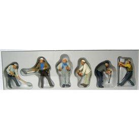 Bauarbeiter Preiser Figuren 1:43 65331