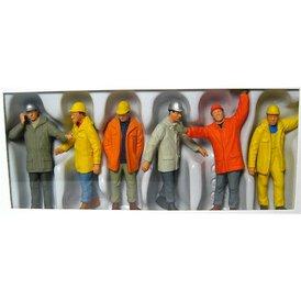 Bauarbeiter Preiser Figuren 1:43 65348