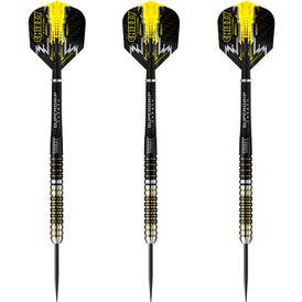 Harrows Steel Darts Dave Chisnall Chizzy 90% Tungsten...