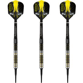 Harrows Soft Darts Dave Chisnall Chizzy 90% Tungsten...