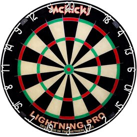 McKicks Lightning Pro Bristle Dart Board Dartboard...