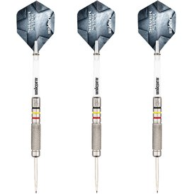 Unicorn Steel Darts Silver Star Kim Huybrechts Steeltip...