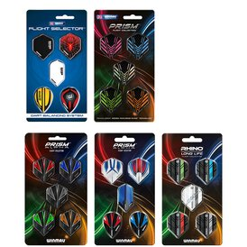Winmau Prism ALPHA - Rhino Dart Flight Collection /...