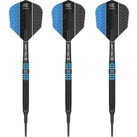 Target Soft Darts Vapor8 Black Blue Softtip Darts...