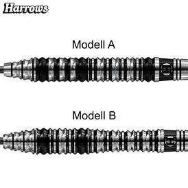 Harrows Steel Darts Strix 90% Tungsten Steeltip Dart...