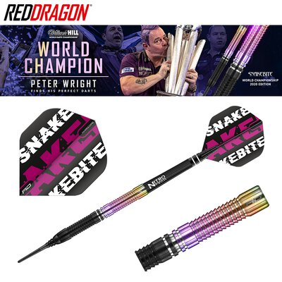 Red Dragon Soft Darts Peter Wright World Championship 2020 Edition Weltmeister 2020 Softtip Dart Softdart