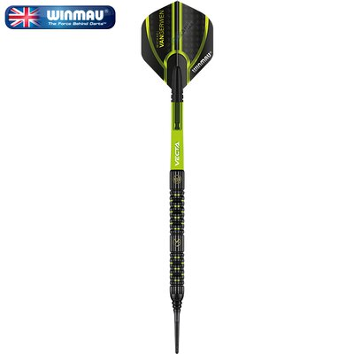 Winmau Soft Darts MvG Michael van Gerwen Adrenalin 90% Tungsten Softtip Dart Softdart 2020 22 g