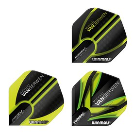 Winmau Prism Alpha MVG Michael van Gerwen Dart Flight in...