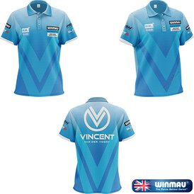 Winmau Darts Vincent van der Voort Pro-Line Player Shirt...