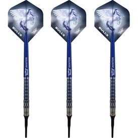 BULLS NL Soft Darts Blue Pegasus Barrel C 95% Tungsten...