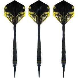 BULLS NL Soft Darts Smoke Gold 80% Tungsten Softtip Darts...